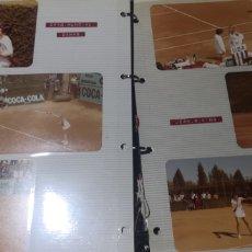 Coleccionismo deportivo: LOTE DE 9 FOTOGRAFÍAS DEL CAMPEONATO MUNDIAL DE DAMAS DE AÑOS 70. Lote 287990613
