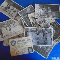 Coleccionismo deportivo: (F-210913)CARNET,13 POSTALES FOTOGRAFICAS Y 4 FOTOS DEL ATLETA DE CROSS JOSEP GONZALEZ AÑOS 30. Lote 288378473