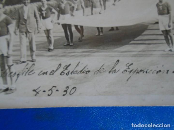 Coleccionismo deportivo: (F-210913)CARNET,13 POSTALES FOTOGRAFICAS Y 4 FOTOS DEL ATLETA DE CROSS JOSEP GONZALEZ AÑOS 30 - Foto 4 - 288378473