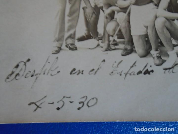 Coleccionismo deportivo: (F-210913)CARNET,13 POSTALES FOTOGRAFICAS Y 4 FOTOS DEL ATLETA DE CROSS JOSEP GONZALEZ AÑOS 30 - Foto 6 - 288378473