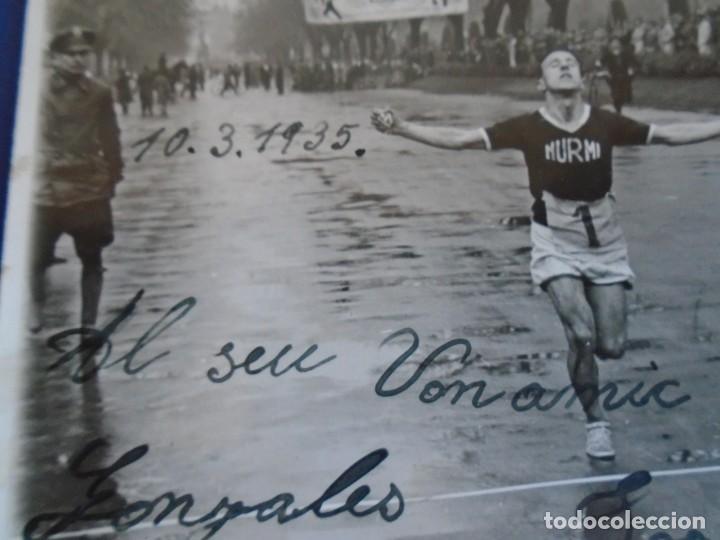 Coleccionismo deportivo: (F-210913)CARNET,13 POSTALES FOTOGRAFICAS Y 4 FOTOS DEL ATLETA DE CROSS JOSEP GONZALEZ AÑOS 30 - Foto 8 - 288378473