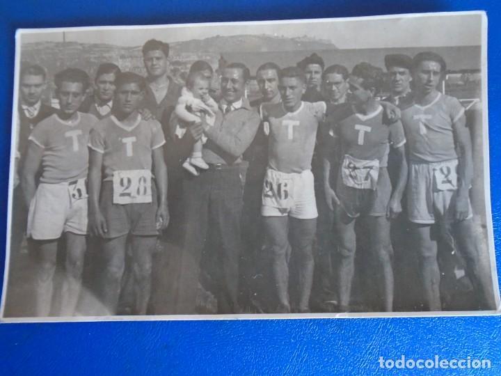 Coleccionismo deportivo: (F-210913)CARNET,13 POSTALES FOTOGRAFICAS Y 4 FOTOS DEL ATLETA DE CROSS JOSEP GONZALEZ AÑOS 30 - Foto 9 - 288378473