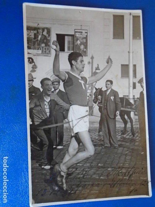 Coleccionismo deportivo: (F-210913)CARNET,13 POSTALES FOTOGRAFICAS Y 4 FOTOS DEL ATLETA DE CROSS JOSEP GONZALEZ AÑOS 30 - Foto 15 - 288378473