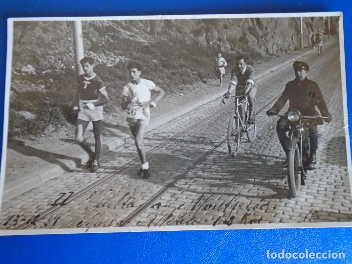Coleccionismo deportivo: (F-210913)CARNET,13 POSTALES FOTOGRAFICAS Y 4 FOTOS DEL ATLETA DE CROSS JOSEP GONZALEZ AÑOS 30 - Foto 17 - 288378473