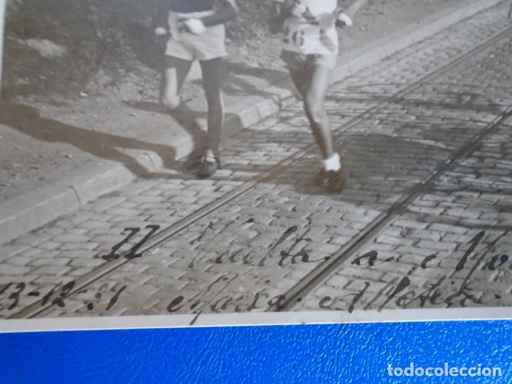 Coleccionismo deportivo: (F-210913)CARNET,13 POSTALES FOTOGRAFICAS Y 4 FOTOS DEL ATLETA DE CROSS JOSEP GONZALEZ AÑOS 30 - Foto 18 - 288378473