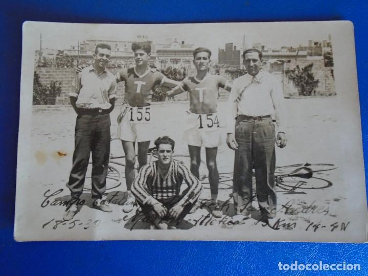 Coleccionismo deportivo: (F-210913)CARNET,13 POSTALES FOTOGRAFICAS Y 4 FOTOS DEL ATLETA DE CROSS JOSEP GONZALEZ AÑOS 30 - Foto 21 - 288378473