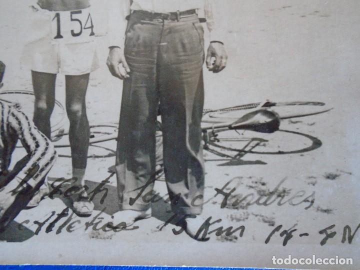 Coleccionismo deportivo: (F-210913)CARNET,13 POSTALES FOTOGRAFICAS Y 4 FOTOS DEL ATLETA DE CROSS JOSEP GONZALEZ AÑOS 30 - Foto 23 - 288378473