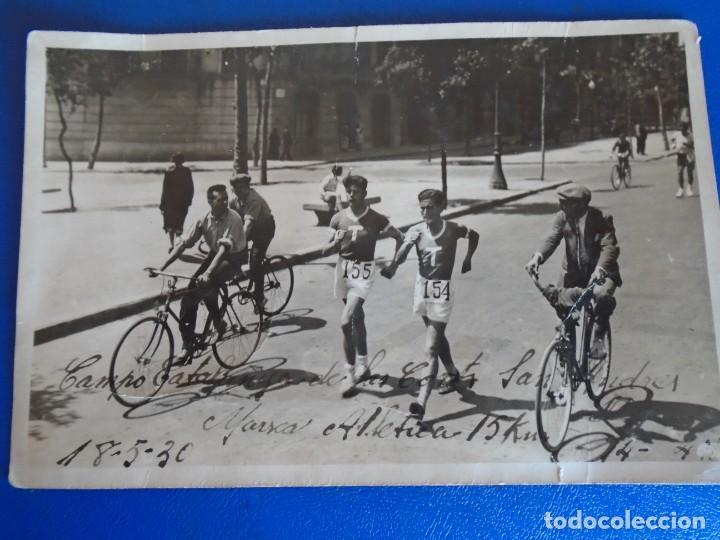 Coleccionismo deportivo: (F-210913)CARNET,13 POSTALES FOTOGRAFICAS Y 4 FOTOS DEL ATLETA DE CROSS JOSEP GONZALEZ AÑOS 30 - Foto 24 - 288378473