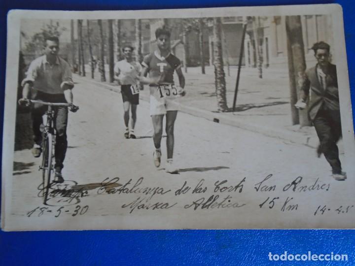 Coleccionismo deportivo: (F-210913)CARNET,13 POSTALES FOTOGRAFICAS Y 4 FOTOS DEL ATLETA DE CROSS JOSEP GONZALEZ AÑOS 30 - Foto 26 - 288378473