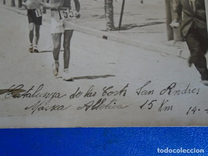 Coleccionismo deportivo: (F-210913)CARNET,13 POSTALES FOTOGRAFICAS Y 4 FOTOS DEL ATLETA DE CROSS JOSEP GONZALEZ AÑOS 30 - Foto 27 - 288378473