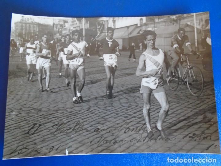 Coleccionismo deportivo: (F-210913)CARNET,13 POSTALES FOTOGRAFICAS Y 4 FOTOS DEL ATLETA DE CROSS JOSEP GONZALEZ AÑOS 30 - Foto 32 - 288378473