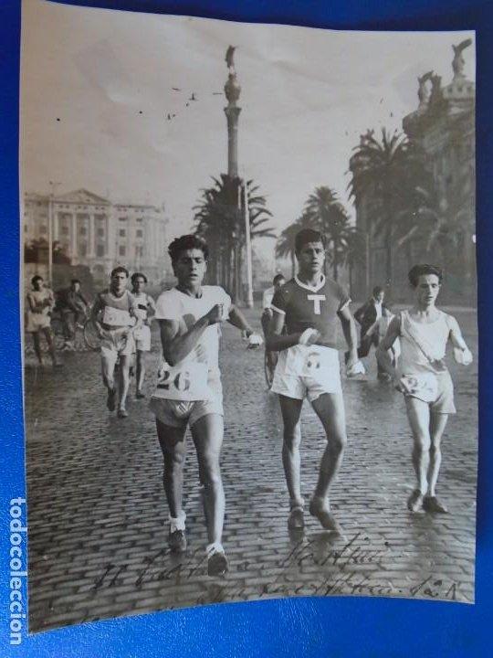 Coleccionismo deportivo: (F-210913)CARNET,13 POSTALES FOTOGRAFICAS Y 4 FOTOS DEL ATLETA DE CROSS JOSEP GONZALEZ AÑOS 30 - Foto 34 - 288378473