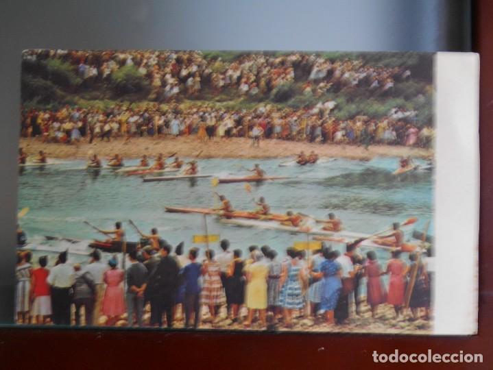 TARJETA DESCENSO DEL SELLA ANTIGUA (Coleccionismo Deportivo - Postales de otros Deportes )