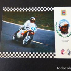 Coleccionismo deportivo: BARRY SHEENE MOTOCICLISTA POSTAL. Lote 291148053