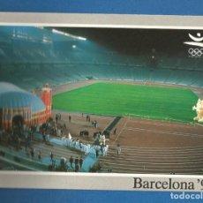 Coleccionismo deportivo: POSTAL SIN CIRCULAR COLECCION OLIMPICA BARCELONA 92 Nº208 ESTADIO MUSEO EDITA PRODUCTO OFICIAL. Lote 293282483
