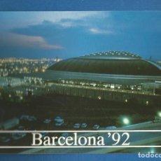 Coleccionismo deportivo: POSTAL SIN CIRCULAR COLECCION OLIMPICA BAECELONA 92 264 PALACIO SANT JORDI EDITA PRODUCTO OFICIAL. Lote 293282753
