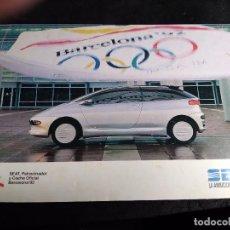 Coleccionismo deportivo: POSTAL * SEAT , BARCELONA 92 *. Lote 294134528