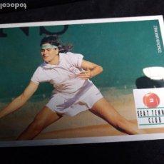 Coleccionismo deportivo: POSTAL * CONCHITA MARTINEZ * SEAT TENIS CLUB 1991. Lote 294134733