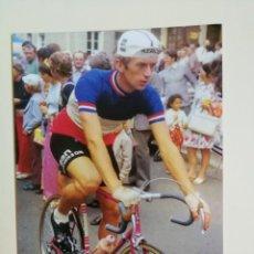 Coleccionismo deportivo: GEORGES TALBOURDET - CAMPEÓN DE FRANCIA 1974 - FOTO PROMOCIONAL. Lote 295780748