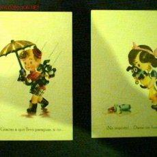 Postales: LOTE 6 POSTALES DE LA MISMA SERIE. EDICIONES HELIOS SERIE IV. VER FOTOS ADICIONALES. Lote 16428065