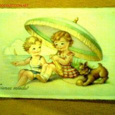 Postales: POSTAL MANUSCRITA FECHADA 1958 C. Y Z. 818. Lote 23148589