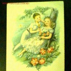 Postales: TARJETA POSTAL MANUSCRITA FECHADA EN 1958. PABLO DÜMMATXEN SERIE 14-03. Lote 22621742