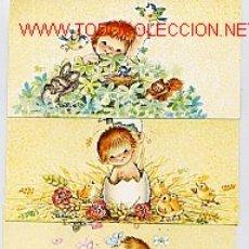 Postales: LOTE DE CUATRO TARJETAS DE J. FERRANDIZ. Lote 190631012