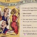Postales: LAS LITANIAS DE UNA JOVEN AL CASARSE-. Lote 25759489