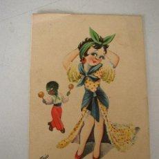 Postales: USADA- 1944.- EDC. TRIO.- CON RIMA.. Lote 23073810