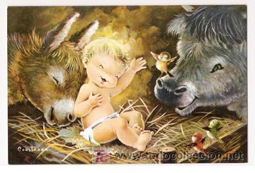 Fotos De Navidad Del Nino Jesus.Magnifico Diptico Del Nino Jesus En Navidad Ilu Vendido En