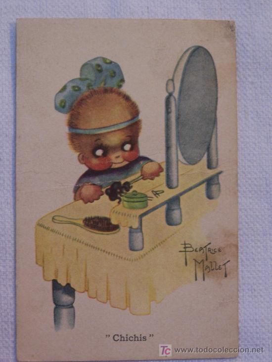 POSTAL DE BEATRICE MALLET (Postales - Dibujos y Caricaturas)