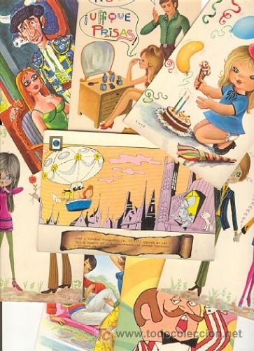 10 POSTALES DIBUJOS (AÑOS 60) (Postales - Dibujos y Caricaturas)