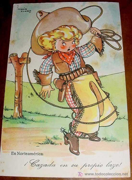 ANTIGUA POSTAL DE MARI-PEPA - SERIE XX, NUM. 9 - CIRCULADA - ILUSTRADORA MARIA CLARET. (Postales - Dibujos y Caricaturas)