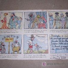 Postales: SECRETARIA DE DEFENSA DEL AHORRO, ILUSTRADO POR MEL. Lote 9611000
