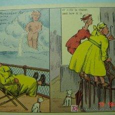 Postales: 9105 BELGICA BELGIQUE BRUXELLES MANNEKEN PIS - HUMOR - MAS EN COSAS&CURIOSAS. Lote 10617098