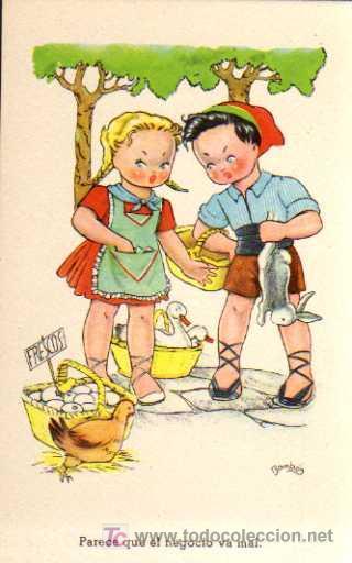 POSTAL - CMB - SERIE Nº 85 - ILUSTRACIÓN BOMBÓN (Postales - Dibujos y Caricaturas)