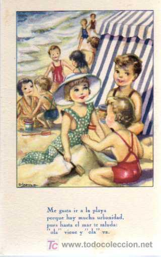 POSTAL - IKON/EDICIONES DEL ARTE - EDITORIAL ARTIGAS - SERIE 48 - ILUSTRACION GIRONA (Postales - Dibujos y Caricaturas)