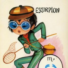 Postales: POSTAL ZODIACO ESCORPION. Lote 6391611