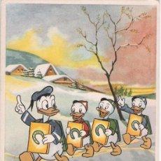 Postales: EL PATO DONALD. EDIT. DISNEY SPAIN. 1956. CURIOSO. Lote 17314187