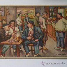 Postales: POSTAL, ESTAMPAS VASCAS, Nº1. EL AMAIKETAKO. Lote 9669833