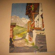 Postales: Nº 418 LA GRANDE MURAILLE VUE DE VALTOUORNANCHE CIRCULADA . Lote 10249057