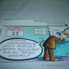 Postales: BONITA TARJETA POSTAL SERIE P, Nº 9. INSTANTANEAS DE AFICIONADOS. DIBUJOS HUMORISTICOS DE PABLO 1981. Lote 11017810