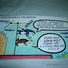 Postales: BONITA TARJETA POSTAL SERIE P, Nº 7. INSTANTANEAS DE AFICIONADOS. DIBUJOS HUMORISTICOS DE PABLO 1981. Lote 11017830