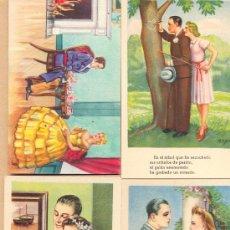 Postales: POST 317 - 15 POSTALES SATÍRICAS AMOR SIN USAR15 - VER FOTOGRAFÍAS DETALLADAS INTERIOR -. Lote 25101414