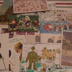Postales: 12 POSTALES, ALGUNAS ESCRITAS. Lote 12687812
