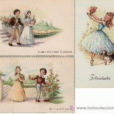 Postkarten - 3 POSTALES CON MENSAJE-VEA MAS EN RASTRILLO PORTOBELLO- COLECCIONES EN GENERAL - 23729144