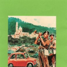 Postales: GARLENDA. FIAT 500 CLUB ITALIA. SIN CIRCULAR. Lote 27084753