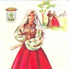 Postales: POST 364 - POSTAL PUEBLA DE GUZMÁN (HUELVA) - TRAJE REGIONAL - ELSI GUMIER - Nº 34 F. MOLINA. Lote 33333952