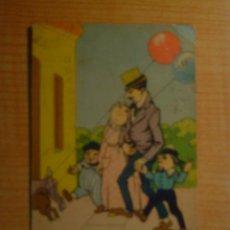 Postales: POSTAL CARICATURA FAMILIA CIRCULADA. Lote 15601449