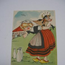 Postales: POSTAL MARIA CLARET . COLECCIÓN POSTALES MARI PEPA . SERIE B Nº 5 . MARI - PEPA EN GALICIA . . Lote 15700678